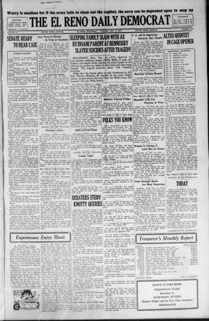 Primary view of The El Reno Daily Democrat (El Reno, Okla.), Vol. 36, No. 274, Ed. 1 Tuesday, December 13, 1927