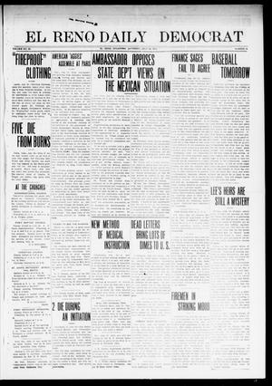 Primary view of object titled 'El Reno Daily Democrat (El Reno, Okla.), Vol. 23, No. 75, Ed. 2 Friday, July 25, 1913'.