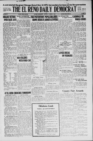 Primary view of The El Reno Daily Democrat (El Reno, Okla.), Vol. 35, No. 227, Ed. 1 Saturday, October 9, 1926