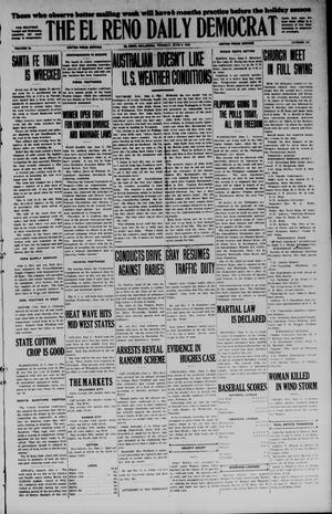 Primary view of object titled 'The El Reno Daily Democrat (El Reno, Okla.), Vol. 34, No. [124], Ed. 1 Tuesday, June 2, 1925'.
