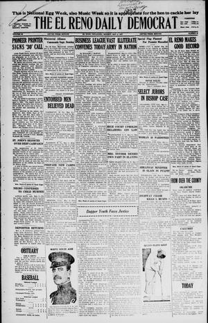Primary view of object titled 'The El Reno Daily Democrat (El Reno, Okla.), Vol. 36, No. 87, Ed. 1 Monday, May 2, 1927'.