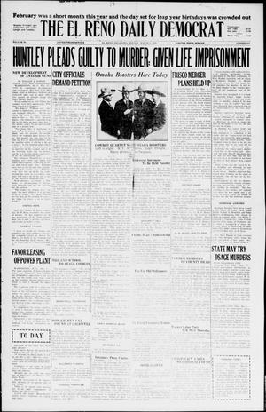 Primary view of object titled 'The El Reno Daily Democrat (El Reno, Okla.), Vol. 34, No. 353, Ed. 1 Monday, March 1, 1926'.