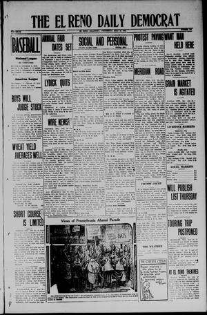 Primary view of object titled 'The El Reno Daily Democrat (El Reno, Okla.), Vol. 33, No. 266, Ed. 1 Wednesday, July 16, 1924'.
