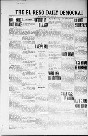 Primary view of object titled 'The El Reno Daily Democrat (El Reno, Okla.), Vol. 32, No. 270, Ed. 1 Tuesday, July 17, 1923'.