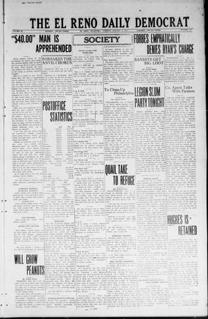 Primary view of object titled 'The El Reno Daily Democrat (El Reno, Okla.), Vol. 33, No. 104, Ed. 1 Tuesday, January 8, 1924'.