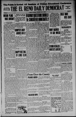 Primary view of object titled 'The El Reno Daily Democrat (El Reno, Okla.), Vol. 34, No. 84, Ed. 1 Wednesday, December 17, 1924'.