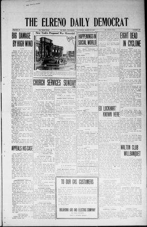 Primary view of object titled 'The El Reno Daily Democrat (El Reno, Okla.), Vol. 33, No. 174, Ed. 1 Saturday, March 29, 1924'.