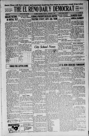 Primary view of The El Reno Daily Democrat (El Reno, Okla.), Vol. 35, No. 286, Ed. 1 Saturday, December 18, 1926