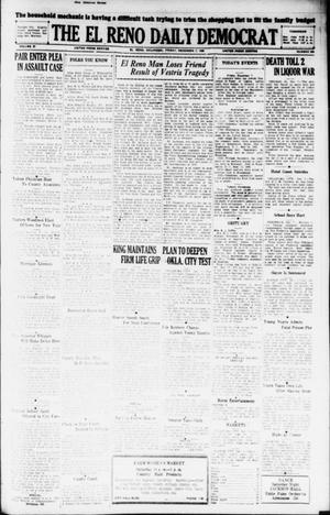 Primary view of The El Reno Daily Democrat (El Reno, Okla.), Vol. 37, No. 266, Ed. 1 Friday, December 7, 1928
