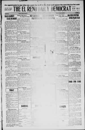 Primary view of object titled 'The El Reno Daily Democrat (El Reno, Okla.), Vol. 35, No. 187, Ed. 1 Monday, August 23, 1926'.