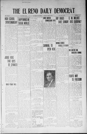 Primary view of object titled 'The El Reno Daily Democrat (El Reno, Okla.), Vol. 33, No. 186, Ed. 1 Monday, April 14, 1924'.
