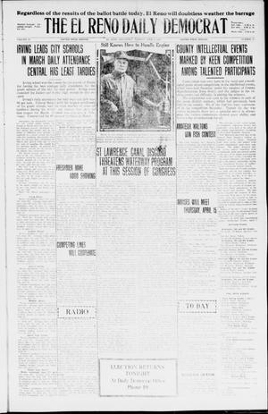 Primary view of The El Reno Daily Democrat (El Reno, Okla.), Vol. 35, No. 72, Ed. 1 Tuesday, April 6, 1926