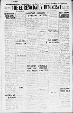 Primary view of object titled 'The El Reno Daily Democrat (El Reno, Okla.), Vol. 35, No. 48, Ed. 1 Tuesday, March 9, 1926'.