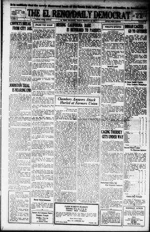 Primary view of object titled 'The El Reno Daily Democrat (El Reno, Okla.), Vol. 38, No. 18, Ed. 1 Friday, February 22, 1929'.
