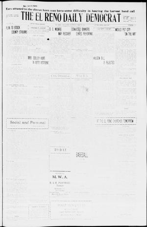 Primary view of object titled 'The El Reno Daily Democrat (El Reno, Okla.), Vol. 35, No. 110, Ed. 1 Saturday, May 22, 1926'.