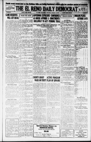 Primary view of object titled 'The El Reno Daily Democrat (El Reno, Okla.), Vol. 37, No. 301, Ed. 1 Saturday, January 19, 1929'.
