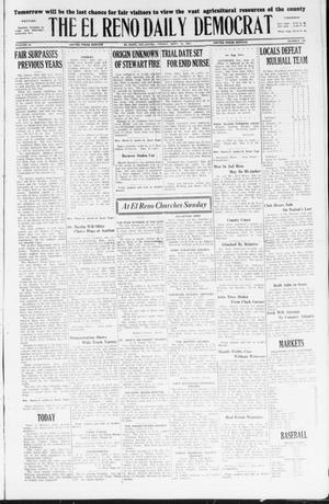 Primary view of object titled 'The El Reno Daily Democrat (El Reno, Okla.), Vol. 36, No. 199, Ed. 1 Friday, September 16, 1927'.
