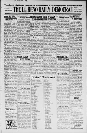 Primary view of object titled 'The El Reno Daily Democrat (El Reno, Okla.), Vol. 35, No. 281, Ed. 1 Monday, December 13, 1926'.