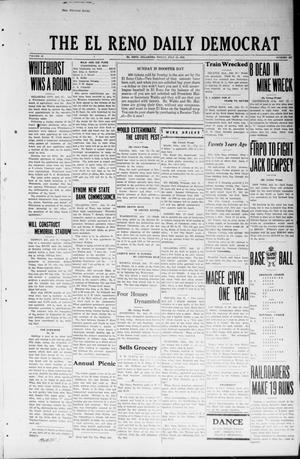 Primary view of object titled 'The El Reno Daily Democrat (El Reno, Okla.), Vol. 32, No. 267, Ed. 1 Friday, July 13, 1923'.
