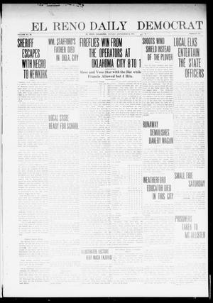 Primary view of object titled 'El Reno Daily Democrat (El Reno, Okla.), Vol. 23, No. 111, Ed. 1 Monday, September 8, 1913'.