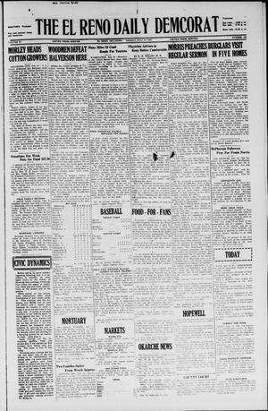 Primary view of object titled 'The El Reno Daily Democrat (El Reno, Okla.), Vol. 35, No. 158, Ed. 1 Monday, July 19, 1926'.