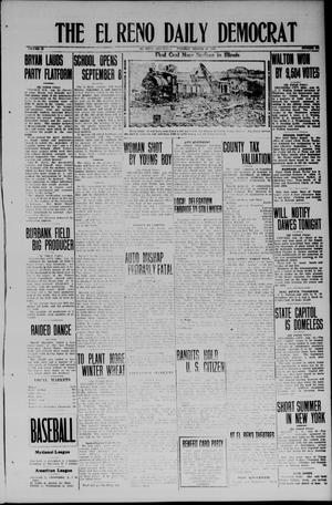 Primary view of object titled 'The El Reno Daily Democrat (El Reno, Okla.), Vol. 33, No. 295, Ed. 1 Tuesday, August 19, 1924'.