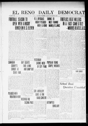 Primary view of object titled 'El Reno Daily Democrat (El Reno, Okla.), Vol. 23, No. 120, Ed. 1 Monday, September 22, 1913'.