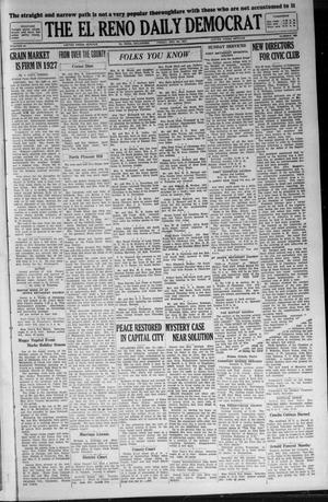Primary view of object titled 'The El Reno Daily Democrat (El Reno, Okla.), Vol. 36, No. 288, Ed. 1 Friday, December 30, 1927'.