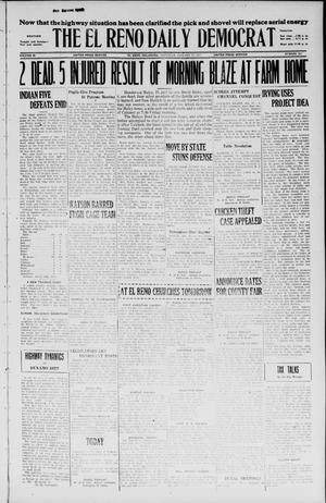 Primary view of object titled 'The El Reno Daily Democrat (El Reno, Okla.), Vol. 35, No. 308, Ed. 1 Saturday, January 15, 1927'.
