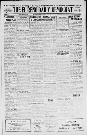 Primary view of object titled 'The El Reno Daily Democrat (El Reno, Okla.), Vol. 36, No. 118, Ed. 1 Thursday, June 9, 1927'.