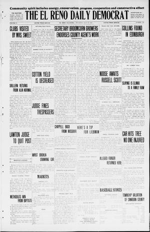 Primary view of object titled 'The El Reno Daily Democrat (El Reno, Okla.), Vol. 34, No. 166, Ed. 1 Thursday, July 23, 1925'.