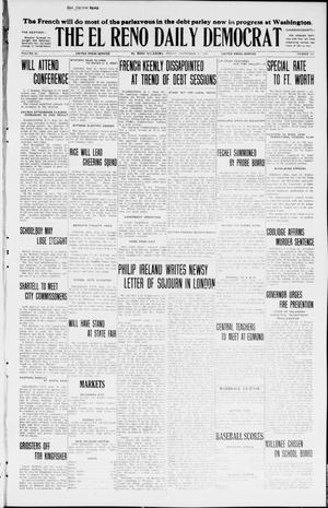 Primary view of object titled 'The El Reno Daily Democrat (El Reno, Okla.), Vol. 34, No. 221, Ed. 1 Friday, September 25, 1925'.