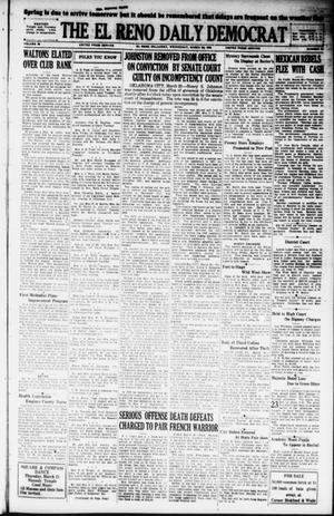 Primary view of object titled 'The El Reno Daily Democrat (El Reno, Okla.), Vol. 38, No. 40, Ed. 1 Wednesday, March 20, 1929'.