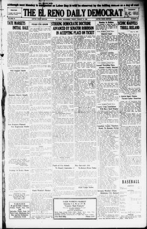 Primary view of object titled 'The El Reno Daily Democrat (El Reno, Okla.), Vol. 37, No. 184, Ed. 1 Friday, August 31, 1928'.