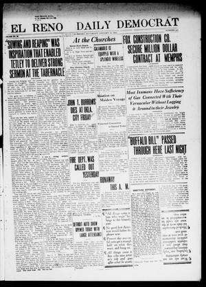 Primary view of object titled 'El Reno Daily Democrat (El Reno, Okla.), Vol. 23, No. 216, Ed. 1 Saturday, January 17, 1914'.