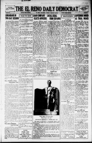 Primary view of object titled 'The El Reno Daily Democrat (El Reno, Okla.), Vol. 38, No. 9, Ed. 1 Tuesday, February 12, 1929'.