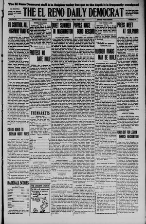 Primary view of object titled 'The El Reno Daily Democrat (El Reno, Okla.), Vol. 34, No. 204, Ed. 1 Friday, May 8, 1925'.