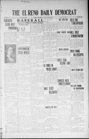 Primary view of object titled 'The El Reno Daily Democrat (El Reno, Okla.), Vol. 33, No. 193, Ed. 1 Tuesday, April 22, 1924'.
