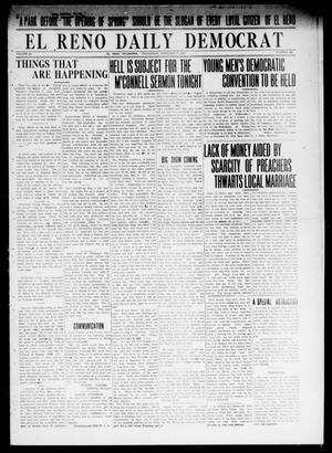Primary view of object titled 'El Reno Daily Democrat (El Reno, Okla.), Vol. 23, No. 294, Ed. 1 Wednesday, February 4, 1914'.