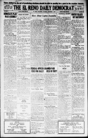 Primary view of object titled 'The El Reno Daily Democrat (El Reno, Okla.), Vol. 37, No. 236, Ed. 1 Thursday, November 1, 1928'.