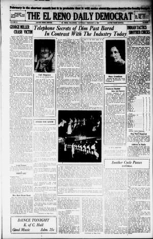 Primary view of object titled 'The El Reno Daily Democrat (El Reno, Okla.), Vol. 38, No. 1, Ed. 1 Saturday, February 2, 1929'.