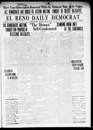 Primary view of object titled 'El Reno Daily Democrat (El Reno, Okla.), Vol. 23, No. 299, Ed. 1 Wednesday, February 11, 1914'.
