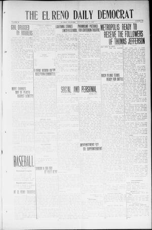 Primary view of The El Reno Daily Democrat (El Reno, Okla.), Vol. 33, No. 245, Ed. 1 Saturday, June 21, 1924