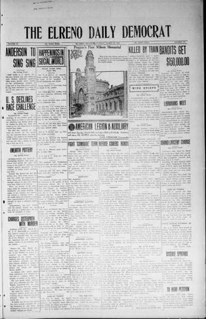 Primary view of object titled 'The El Reno Daily Democrat (El Reno, Okla.), Vol. 33, No. 170, Ed. 1 Tuesday, March 25, 1924'.