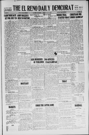 Primary view of The El Reno Daily Democrat (El Reno, Okla.), Vol. 35, No. 159, Ed. 1 Tuesday, July 20, 1926