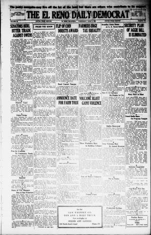 Primary view of The El Reno Daily Democrat (El Reno, Okla.), Vol. 38, No. 105, Ed. 1 Wednesday, June 5, 1929