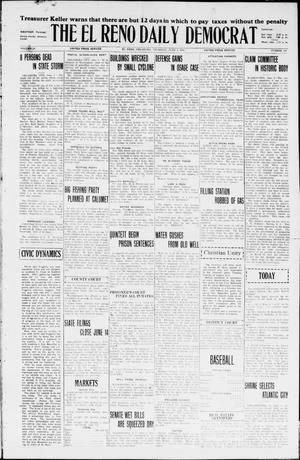 Primary view of object titled 'The El Reno Daily Democrat (El Reno, Okla.), Vol. 35, No. 120, Ed. 1 Thursday, June 3, 1926'.
