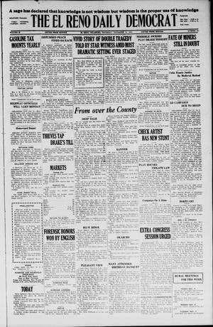 Primary view of object titled 'The El Reno Daily Democrat (El Reno, Okla.), Vol. 35, No. 261, Ed. 1 Thursday, November 18, 1926'.