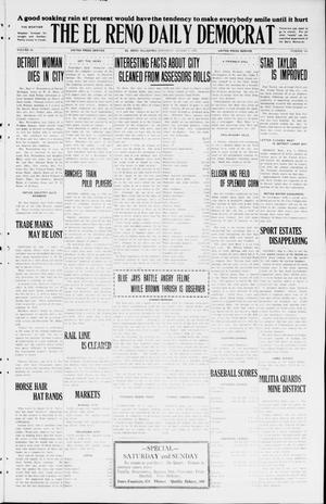 Primary view of The El Reno Daily Democrat (El Reno, Okla.), Vol. 34, No. 180, Ed. 1 Saturday, August 8, 1925