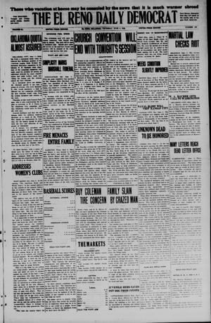 Primary view of object titled 'The El Reno Daily Democrat (El Reno, Okla.), Vol. 34, No. 126, Ed. 1 Thursday, June 4, 1925'.